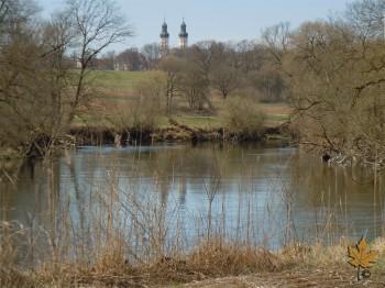 Mühlenwehr der ehemaligen Wasserkunst Obermarchtal